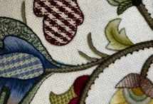 work and embroideries