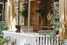 Porch & Deck Decor / Ideas for deck and porch