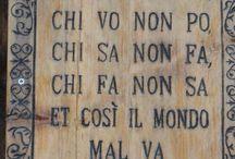 Vecchi proverbi italiani