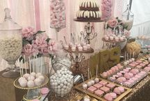Bridal Shower Ideas & Themes / Bridal Shower Ideas• decorations • themes • cakes • cupcakes • cakepops • dessert table • desserts • centerpiece • cake stands • cupcake stands • candelabras • Tea Party • Nautical • Kate Spade •