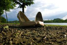 High heels shoes / Heels in different version. Court shoes. Platform shoes. Classic heels. elikshoe