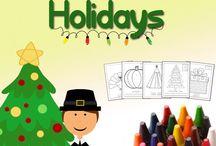 Christmas crafts for kids / by Ólöf Rut Halldórsdóttir