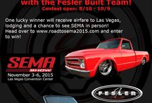 RoadToSEMA / Fesler Built is giving away a trip to SEMA! Will you be the lucky winner?