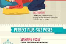 Fitness a jóga plus size