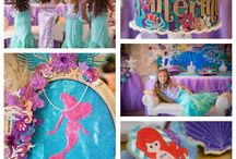 Party Theme: Mermaid & Sea