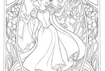 Disney Colouring Pages x
