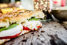 PANINI CON FOCACCIA / OUR OVEN-BAKED FOCACCIA IS A GLORIOUSLY CRISPY DELICACY THAT CAN'T POSSIBLY BE CALLED A MERE SANDWICH. http://www.na-pizza.com/menu/#focaccia