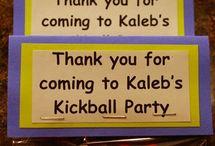 Palmers kickball party