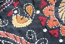 kutch n kanta n banjara n mirror work embroidery I love