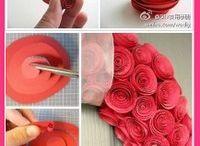 manualidades rosas / by Lourdes Domenech