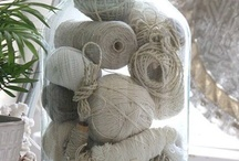 {knit} tools, supplies and storage / Creative ways of storing all my bits. / by Desiree Goodall