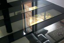 sol en dalle en verre