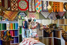 Quilt Shops We <3: Canada / Check out one of these quilt stores next time you're in Canada. / by American Patchwork & Quilting