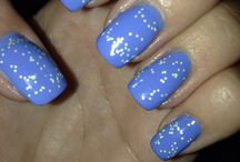 Nägel / Nails Blue