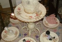 Display Ideas / Using vintage and antique items to display your special pieces.