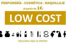 Low Cost! / Productos de perfumería, cosmética y maquillaje, ¡a partir de 1€!