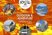 Outdoor & Adventure Experiences / Find out the best #outdoor & #adventure #travel #experiences you may live in #Argentina and #Latinamerica. Dare yourself! ●  Descubre las mejores #experiencias de #aventura y atrévete a vivir la #adrenalina en #Argentina y #Latinoamérica ● www.acrossargentina.com