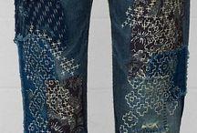 Sashiko / Jeans mending
