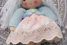 Handmade dolls / Moje Arinki; ręcznie szyte lale.