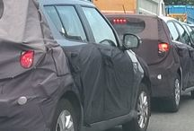 car spy shots