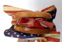 sandwiches, bagels, burgers, wraps... Recetas de Anansies