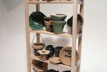 pottery by Fennicole Miniatures / miniature pottery