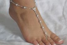 How to make foot jewels
