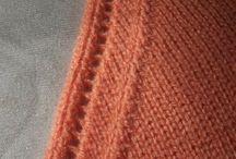 Приемы вязания, схемы, узоры