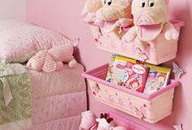 idéias para organização de quarto infantil