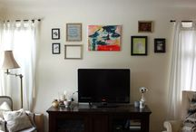 gallery walls & bookcase styling / yes i am a pinterest stereotype
