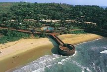 Aguada Fort, Goa / Fort Aguada and its lighthouse is a well-preserved seventeenth-century Portuguese fort standing in Goa, India, on Sinquerim Beach, overlooking the Arabian Sea.