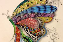 mandalas y zentangle