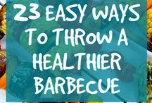 Healthy Summer Barbeque Recipes / Nothing says summer quite like cooking out with friends and family. Here are some great ways to have your fun and stay healthy, too, with these delicious and nutritious recipes for your next big BBQ. #HealthyRecipes #EatHealthy #HealthyGrilling #Cookout #CookHealthy #EatWell #CleanEating #Cooking #Healthy #Recipes
