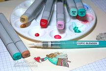 Copic Markers / by Elizabeth Tilley