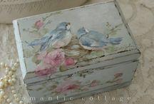 scatola uccellini