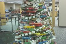 Book Art / Creative things people have done to recycle old books. / by Stewart Library