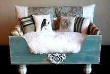 DIY Beds for Penny / DIY dog beds