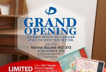 Phiten Marina Square / Phiten Marina Square Store reopens at a new Bigger Space on 8th November.