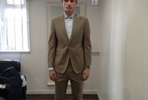 Harris and Zei Basted Suits / Menswear Tailored, Basted Suits Ready for our SS15 RTW Collection.