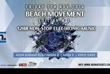 BEACH MOVEMENT EDITION NO. 1 / BEACH MOVEMENT EDITION NO. 1 •BEACH PARTY •12 HR NON-STOP ELECTRONIC MUSIC• FRIDAY 7TH OF NOV