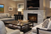 Soft contemporary living rooms