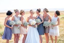 Wedding Dresses from Real Brides / Get fashion inspiration from real brides just like you! Here's how they wore their wedding dresses, and how you can wear yours, too!