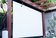 CINEMA OUTDOOR DIY