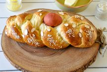 easter tsoureki bread