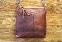 """Кожаная сумочка """"Small brown bag"""""""