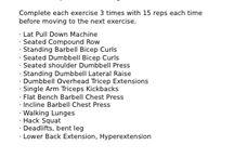 Fitness: Ashley Horner