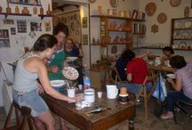 Pottery workshops at Sbigoli / pottery workshops at Sbigoli and at your place