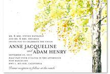 Celebrities Weddings / Inspired Celebrities weddings invitations, by ForeverFiances Weddings.