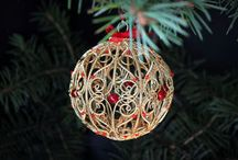 Winter Holiday Ornaments / 0