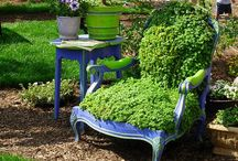 Upcycle: Outdoor Living / Repurpose great finds for the garden, porch and outdoors.
